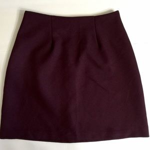 City Triangles Plum Mini Skirt size 4